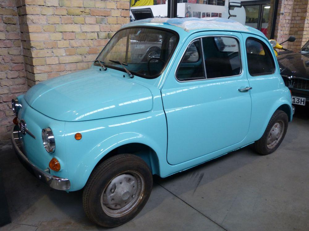 Fiat 500 - Das alte Model