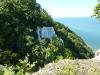 Die Kreidefelsen direkt von der Aussichtsplattform fotografiert
