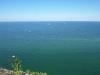 Blick auf die Ostsee direkt von der Aussichtsplattform