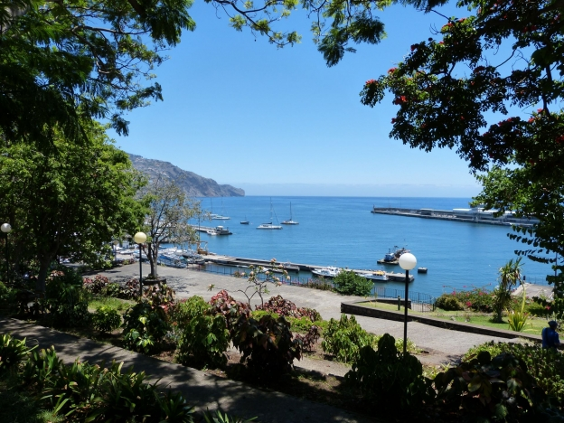 Blick vom Santa Catarina Park