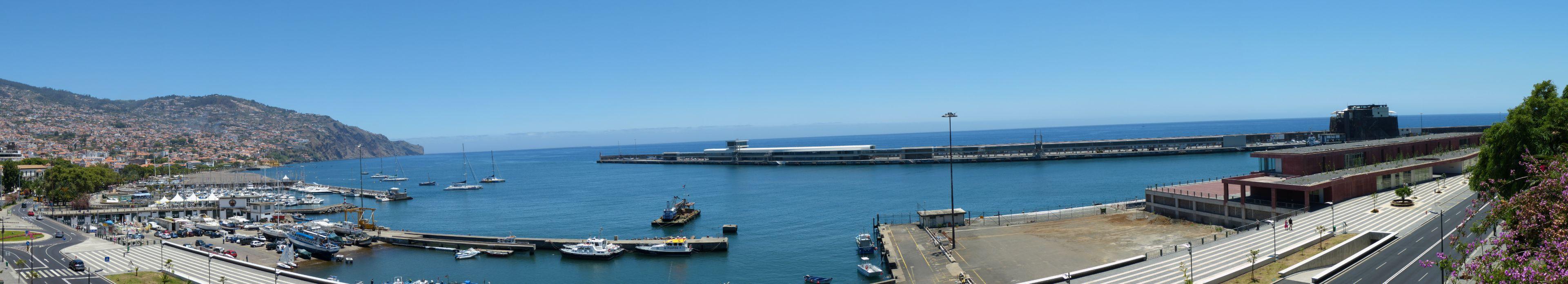 180° Panorama von Funchal