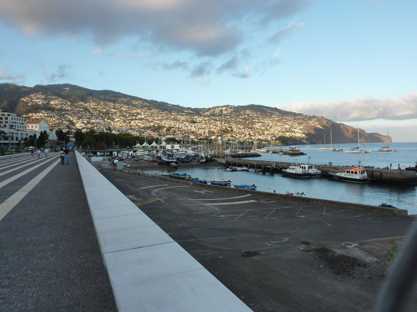 Funchal am Abend