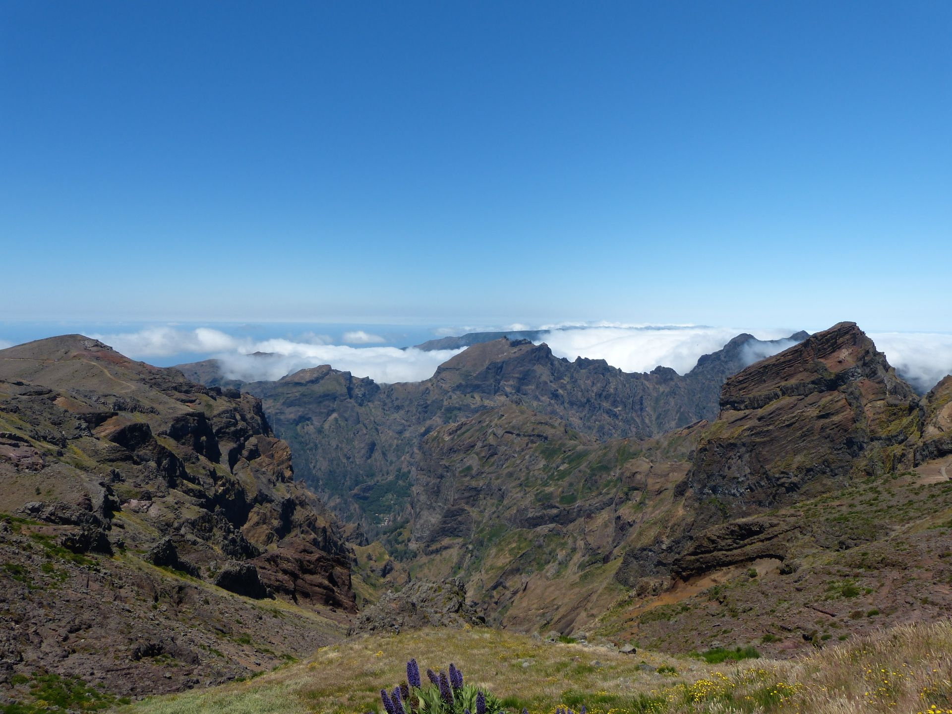 Am Pico do Arieiro