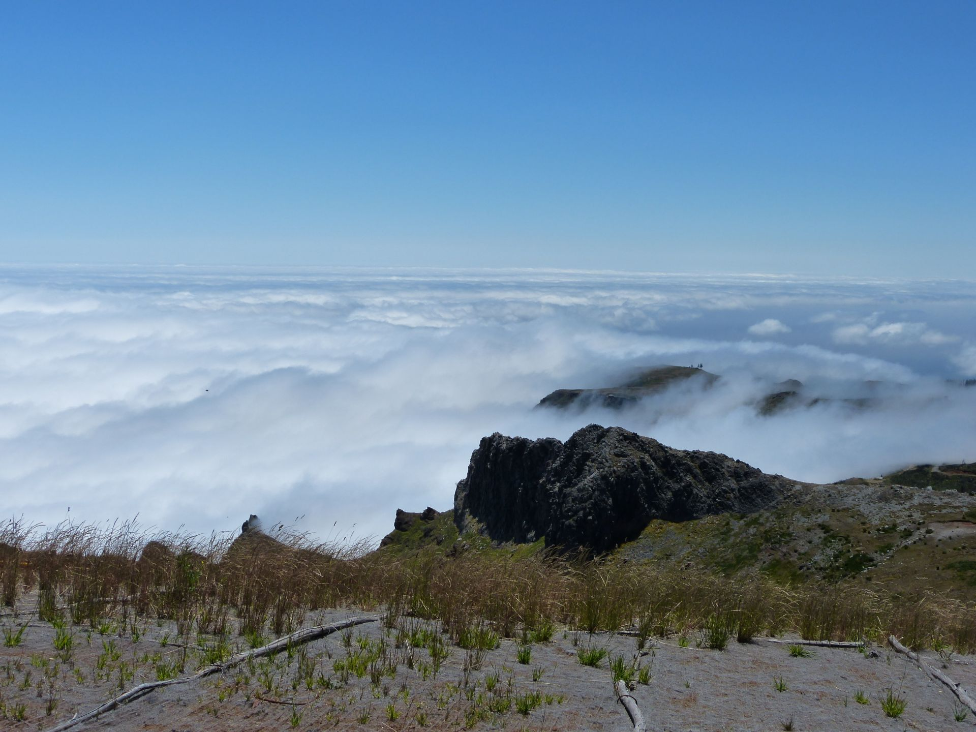 Am Pico do Arieiro über den Wolken