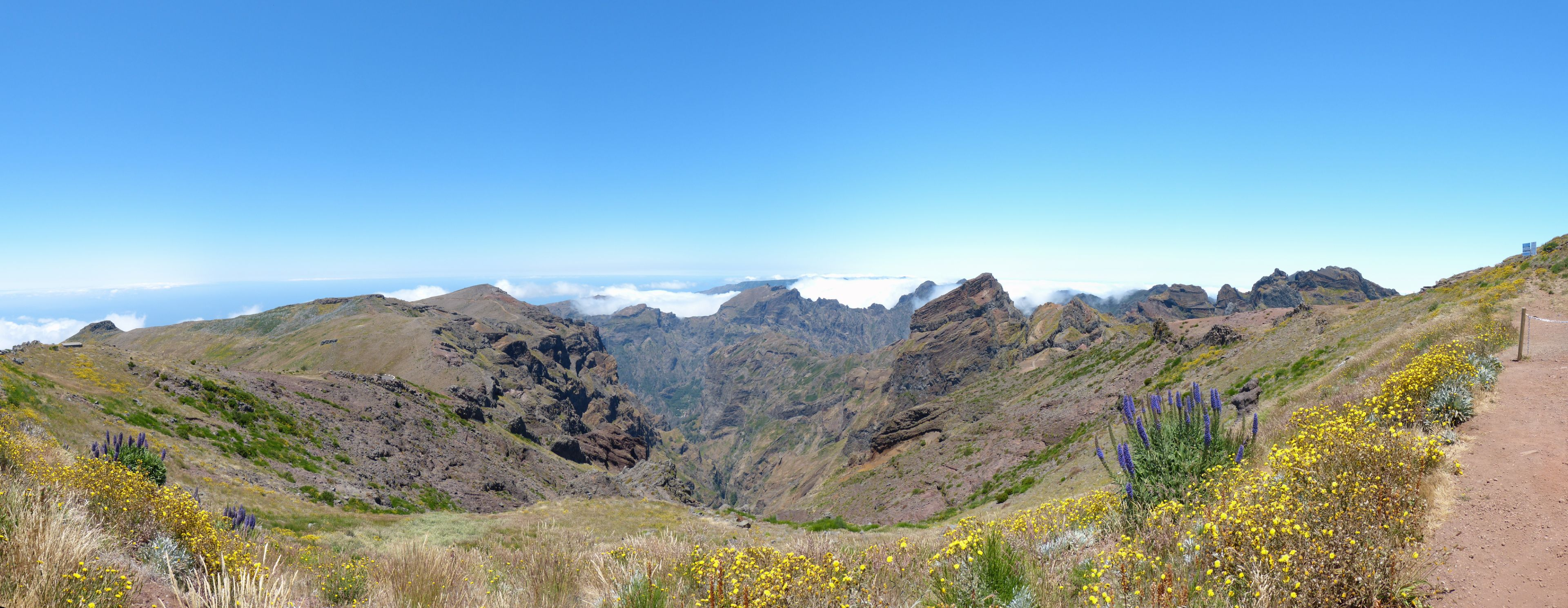 Panorama am Pico do Arieiro