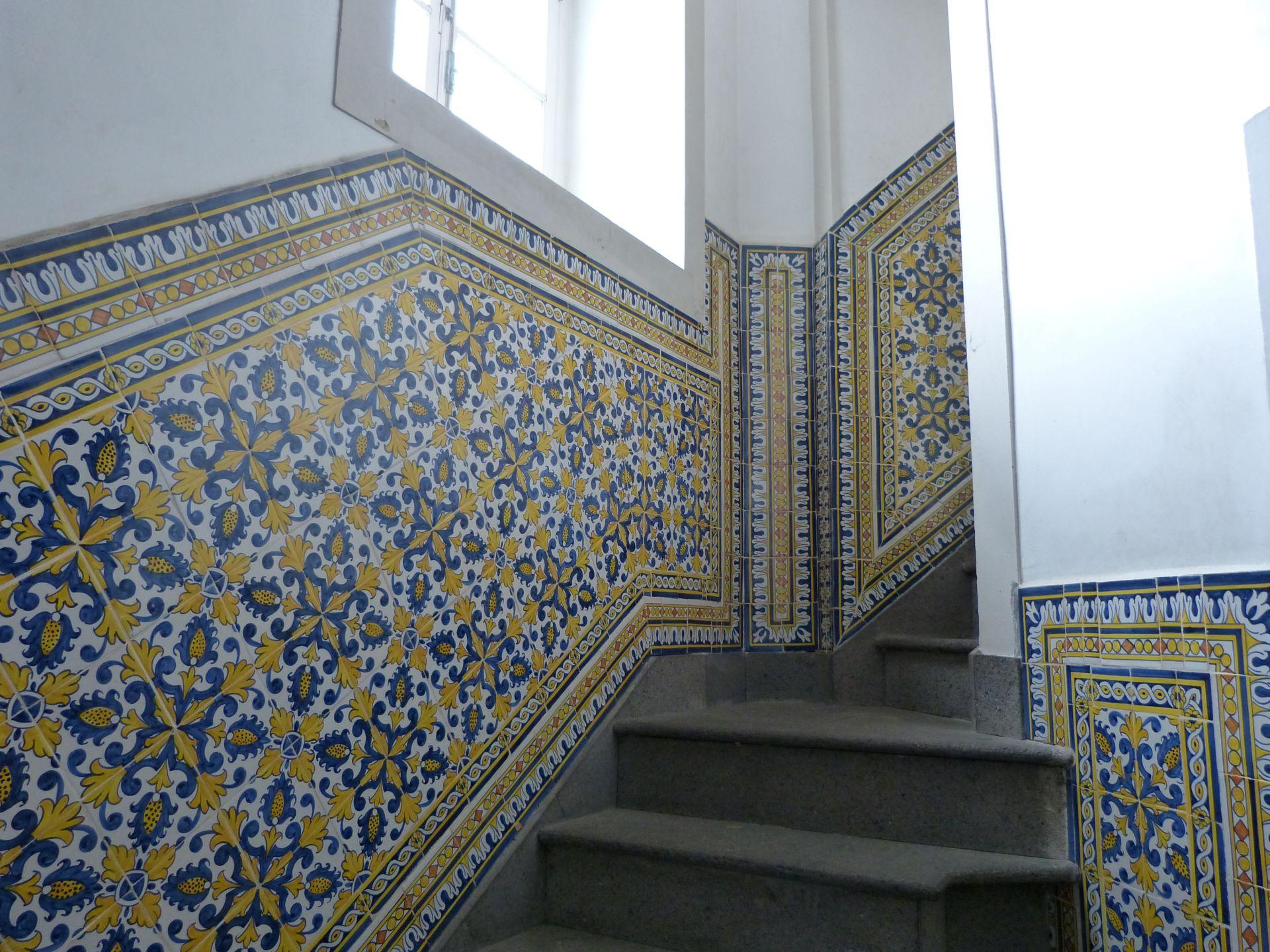 Azulejos in der Kirche Sao Sebastiao