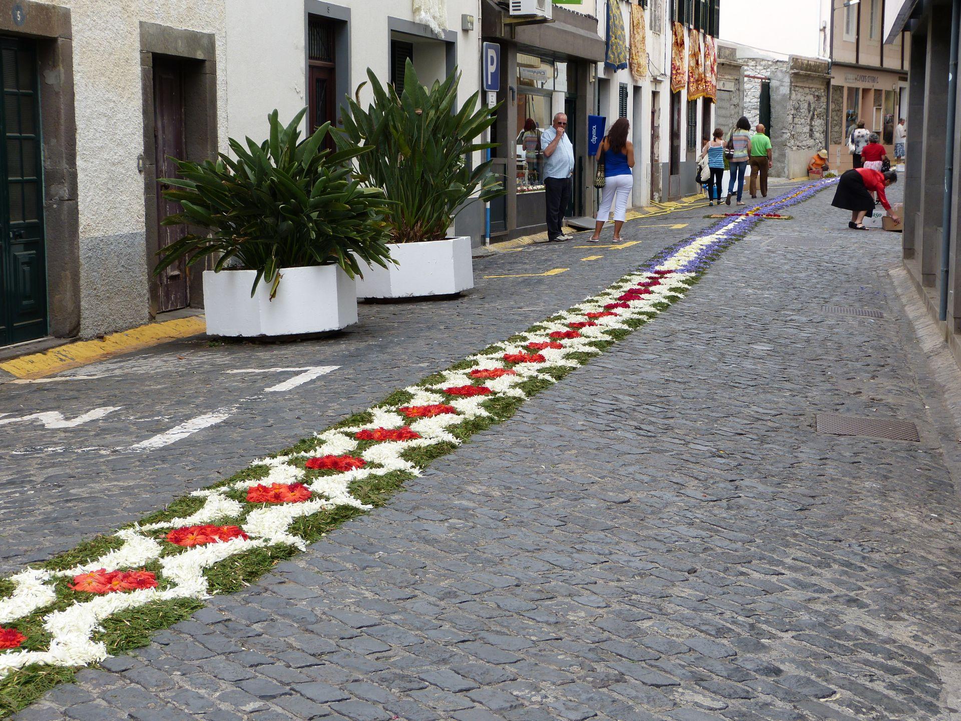 Blumenfest in Ribeira Brava:  Sehr aufwändig