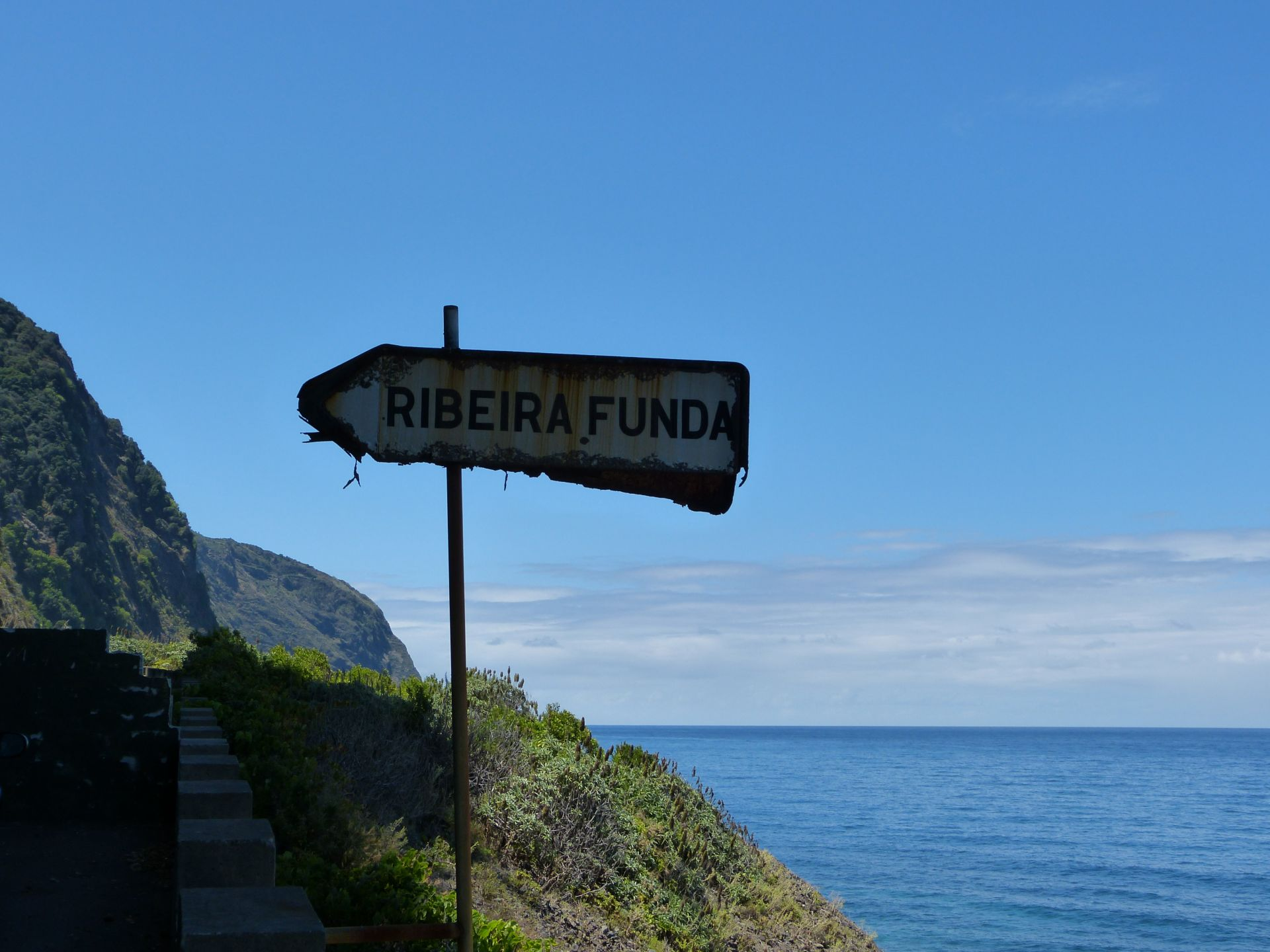 Letzte Ausfahrt Ribeira Funda
