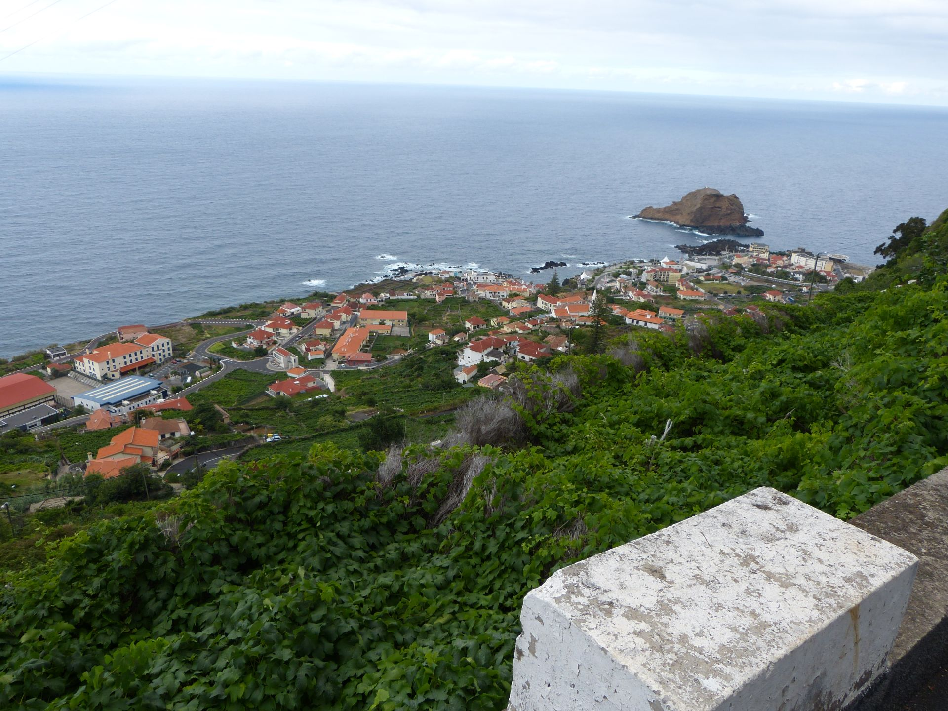 Porto Moniz von Oben auf dem Rückweg