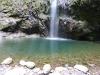 Der kleine Bergsee von Caldeirão Verde