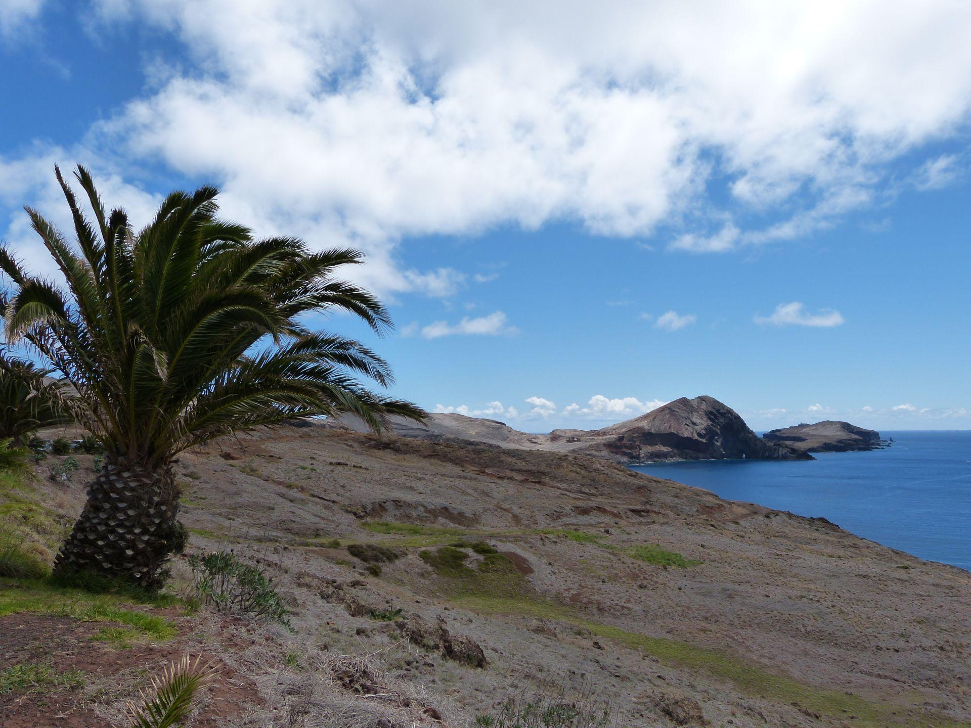 Blick auf Ponta de São Lourenço
