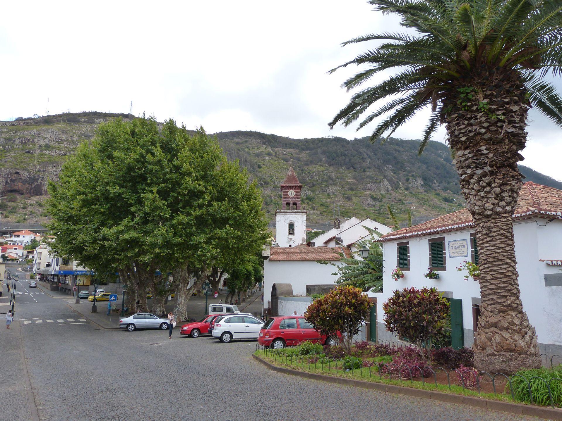 Ortskern von Machico mit ältester Kirche