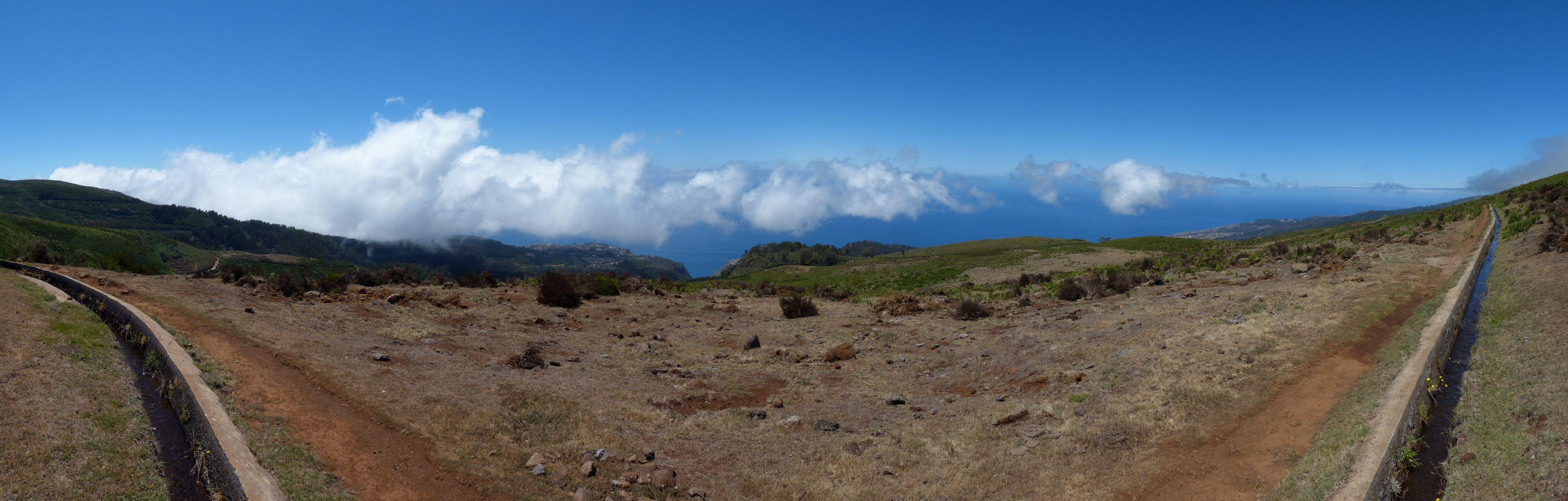 180° Panoramaufnahme der Südküste