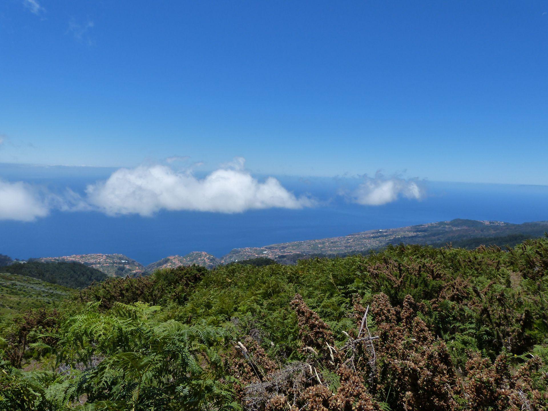 Blick auf die Südküste mit Calheta