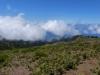 Blick durch die Wolken auf die Südküste