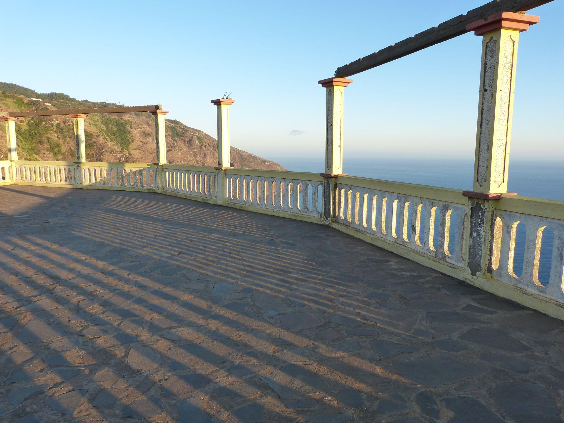 Aussichtsterrasse beim Casa de Chá O Fio