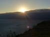 Wolken verschlucken die Sonne