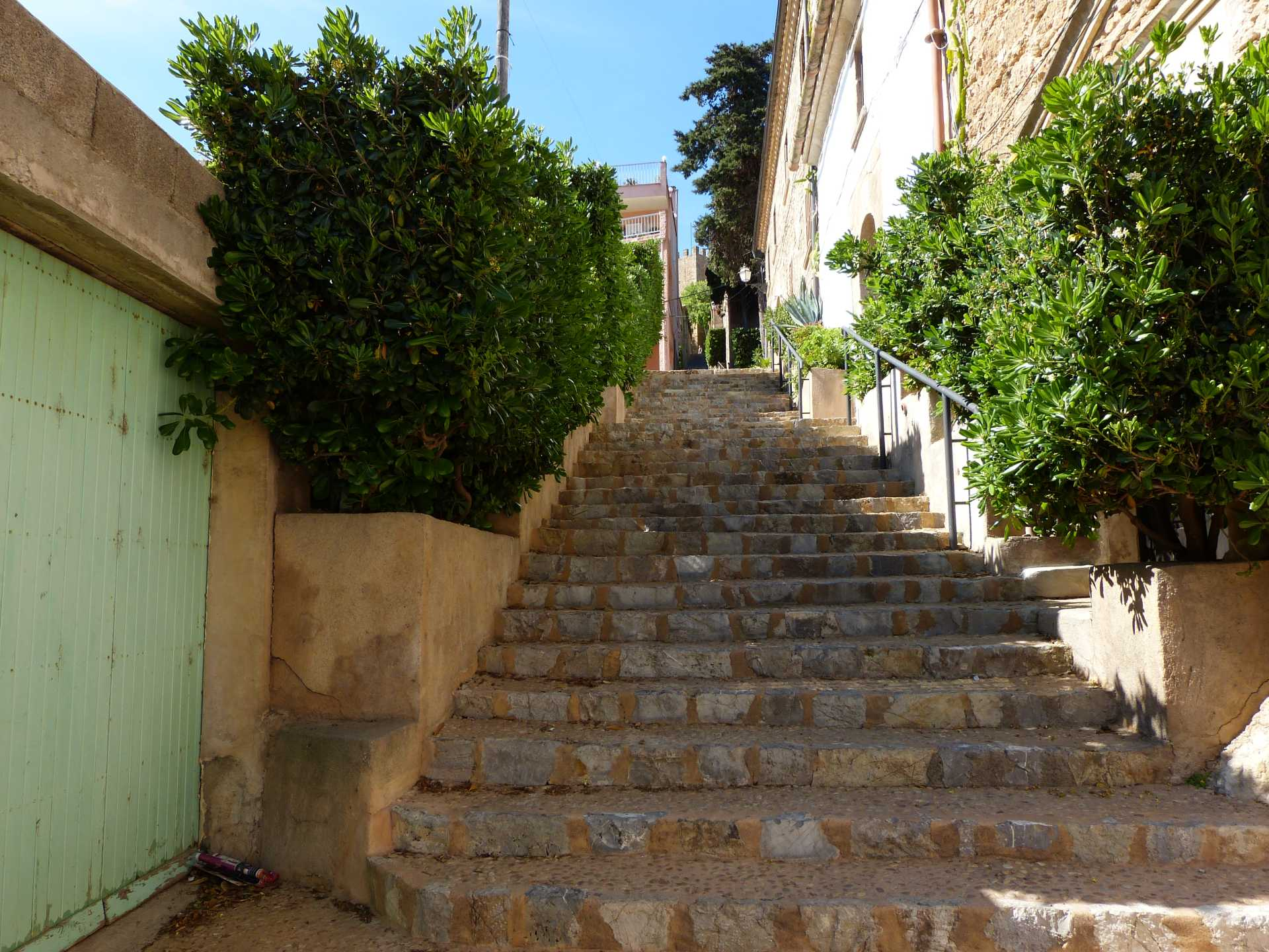 Capdepera - Weg zur Burg