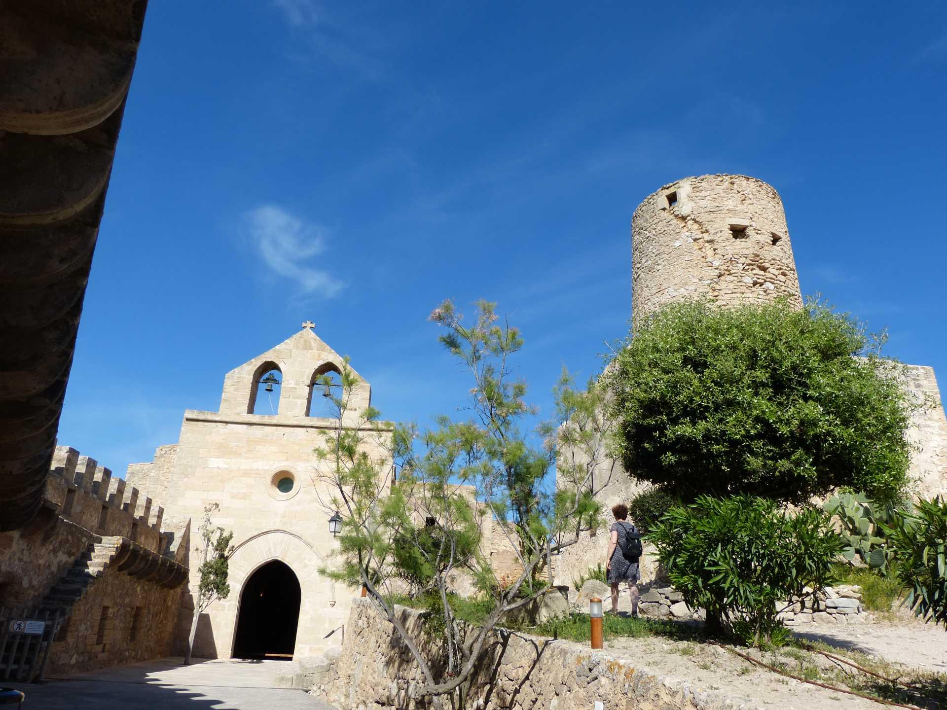 Auf der Burg in Capdepera