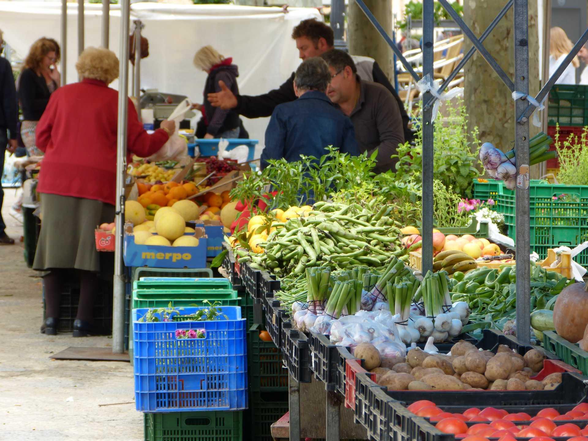Markt in Binassalem