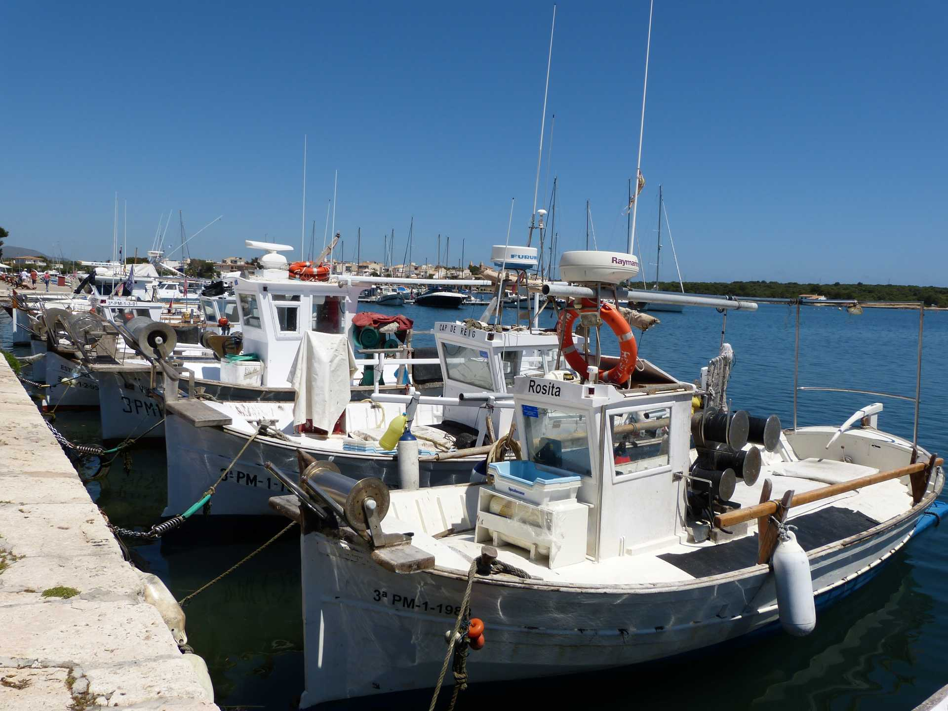 Portocolom - Hafen