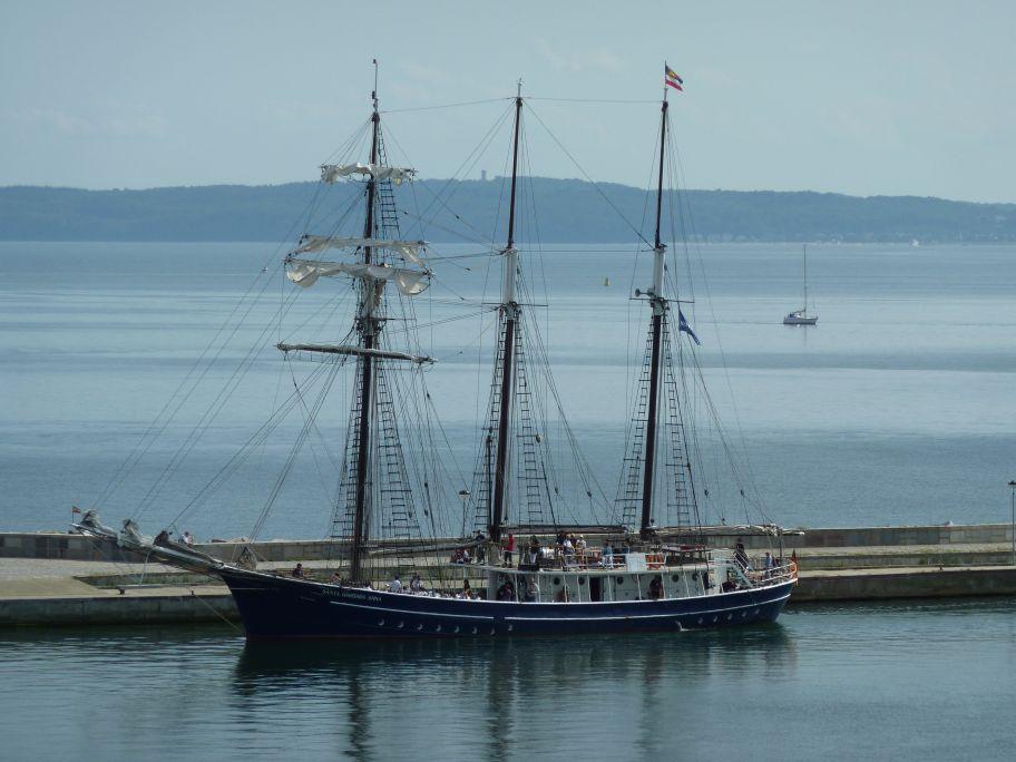 Dieses Segelschiff gehört Joey Kelly