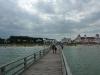 Blick von der Binzer Seebrücke