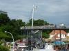 Die neue Hafenbrücke in Sassnitz