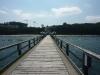 Die Seebrücke ist mißt 394 Meter