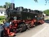 Eine der Dampflokomotiven