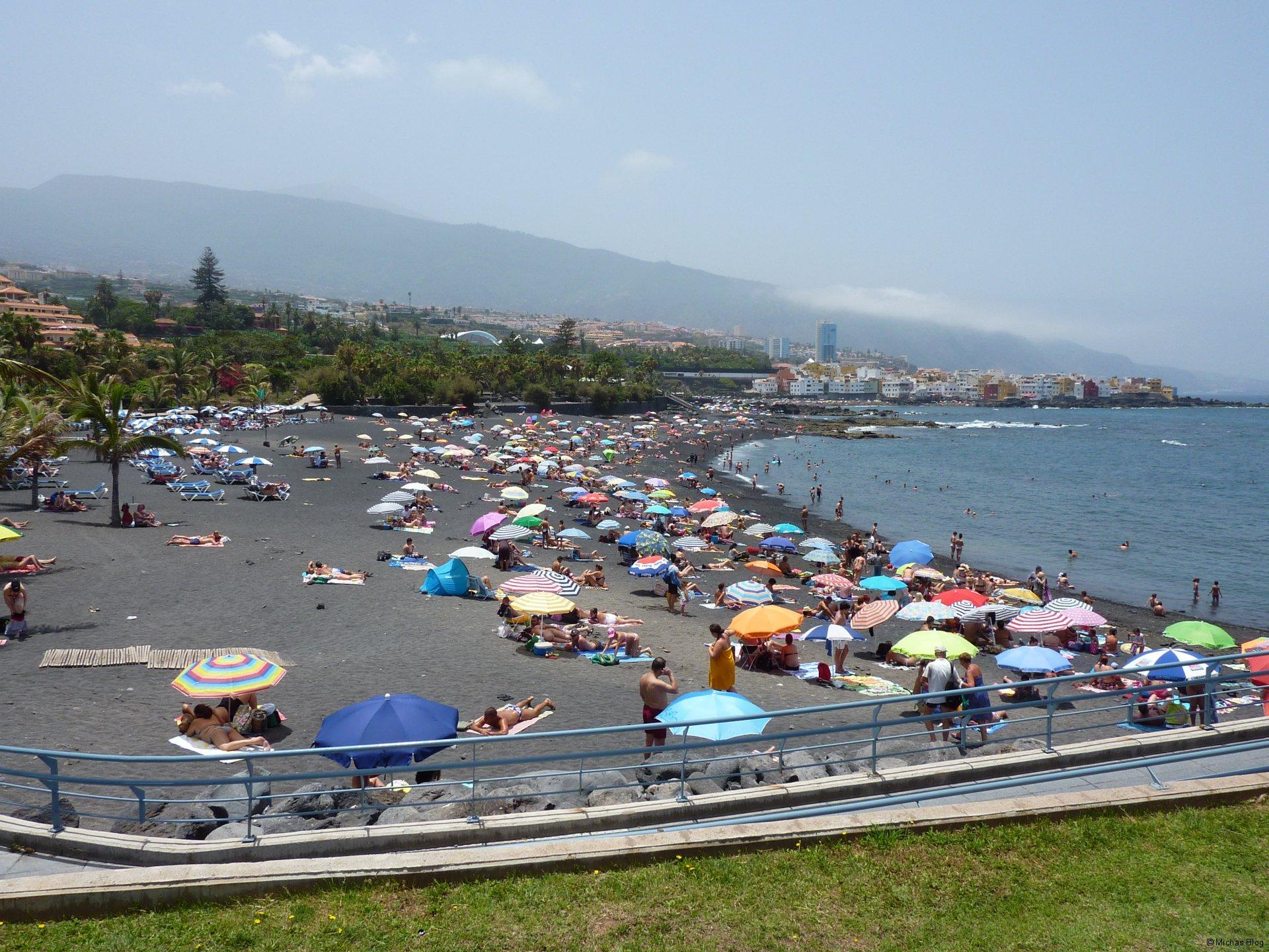 Playa Jardin, nur 5 Minuten vom Hotel entfernt