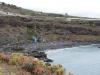 Blick vom Felsen neben dem Playa del Bolullo