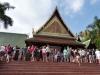 Eingang mit thailändischem Dorf