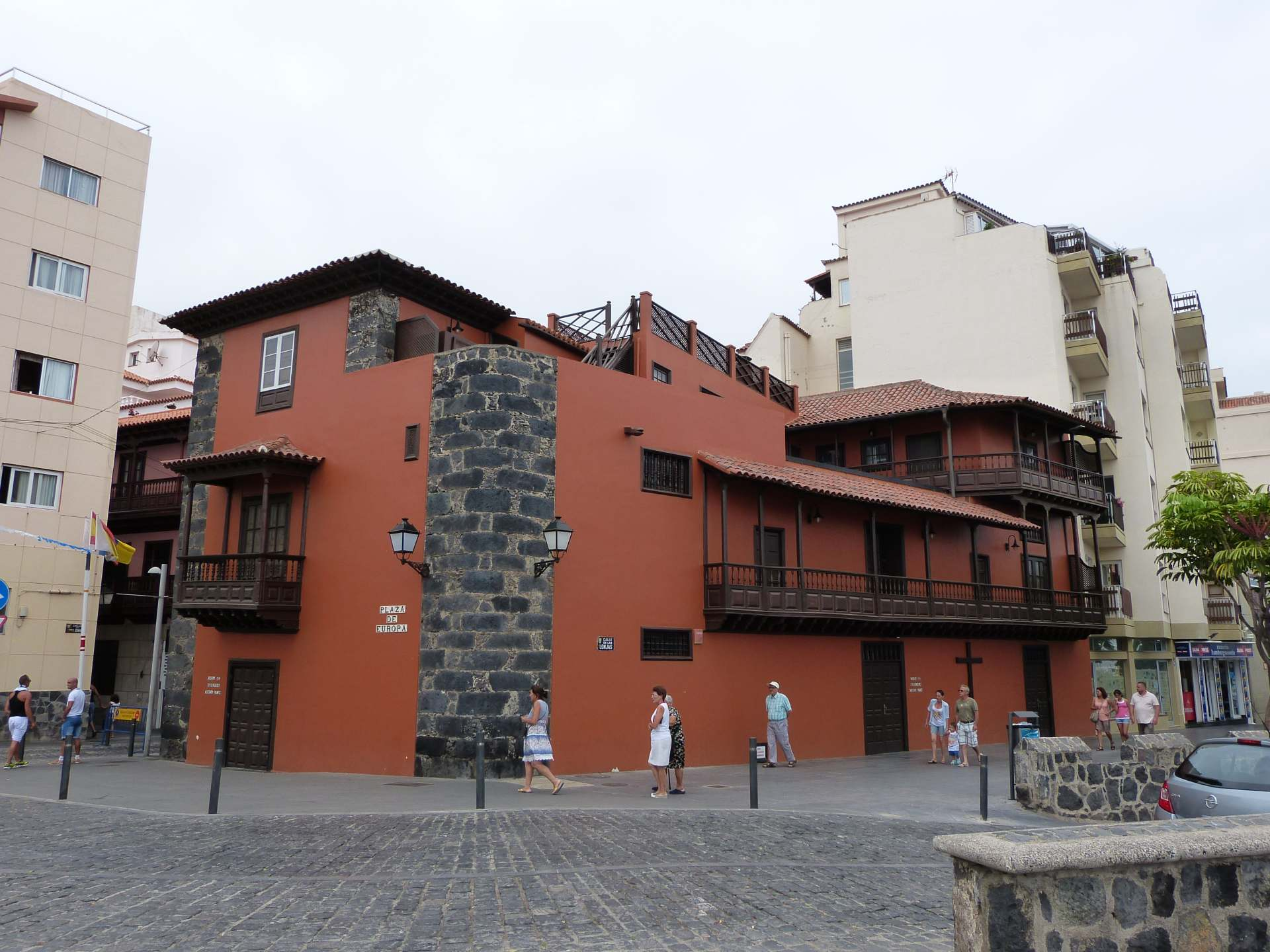 Casa de Miranda am Plaza Europa