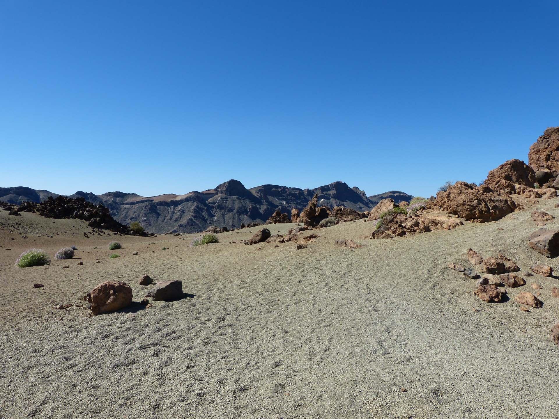 Las Cañadas - Wie auf dem Mars