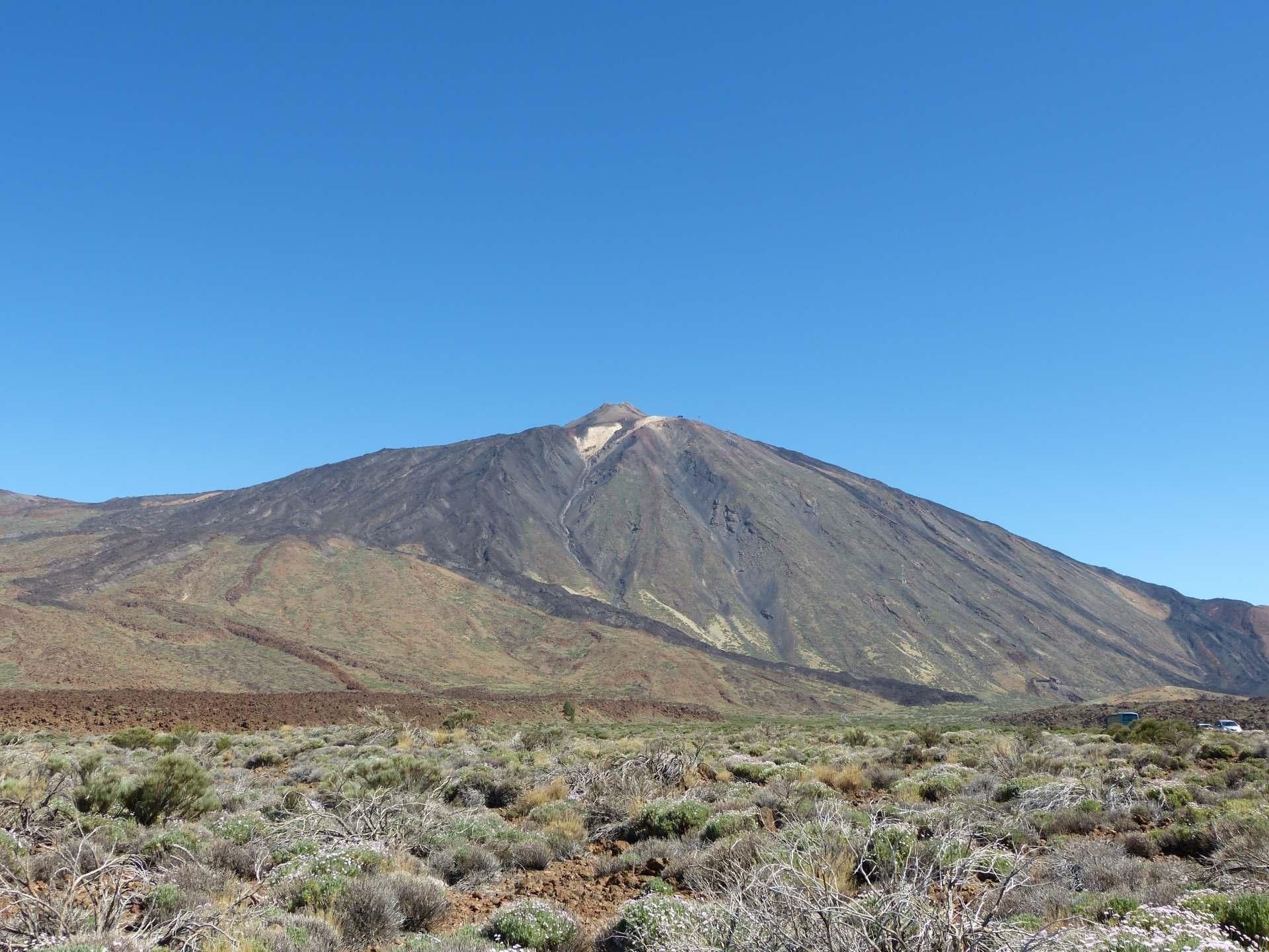 Roques de García mit Blick auf Teide