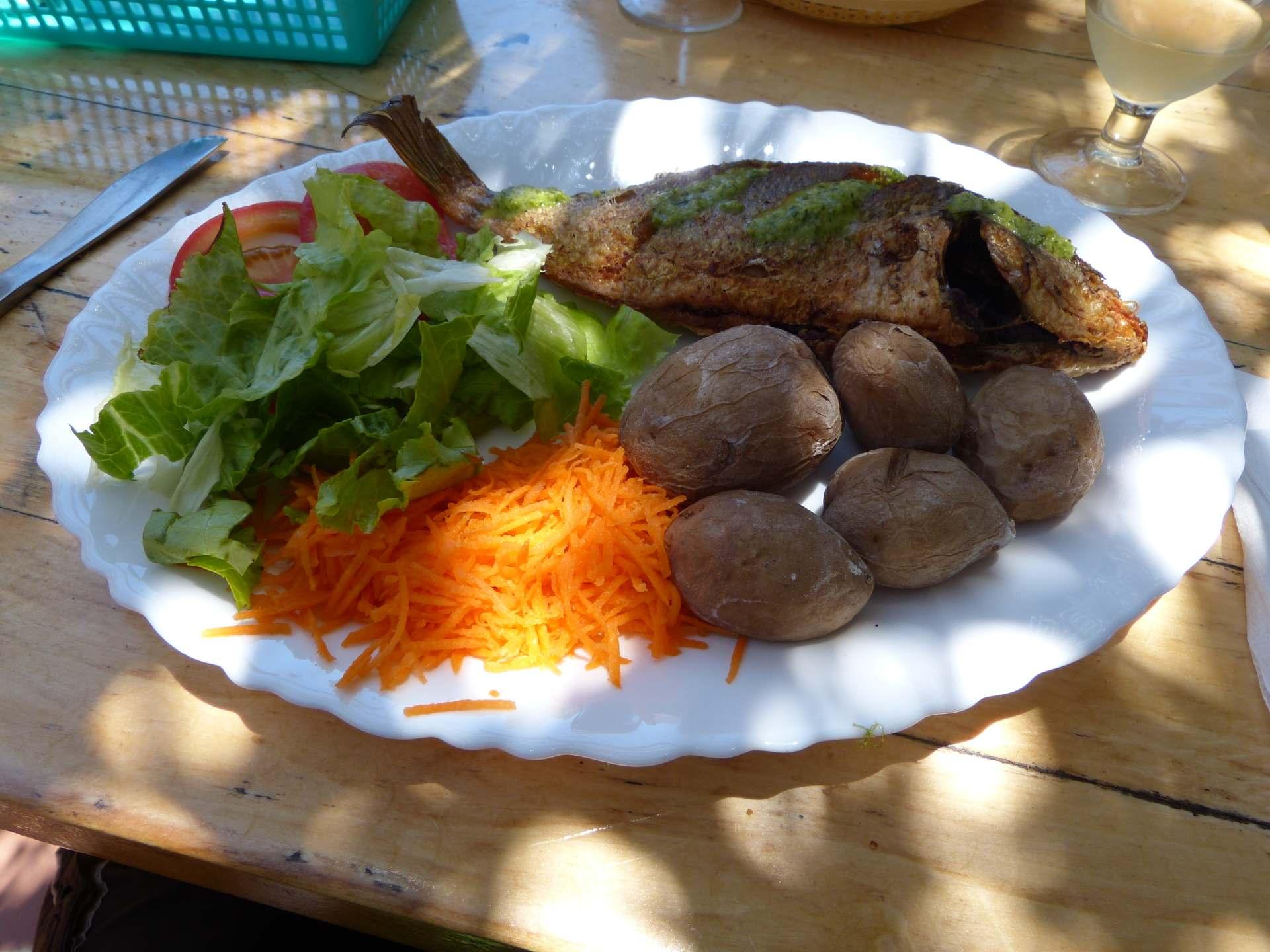 Lecker Essen mit Aussicht im Chez Arlette
