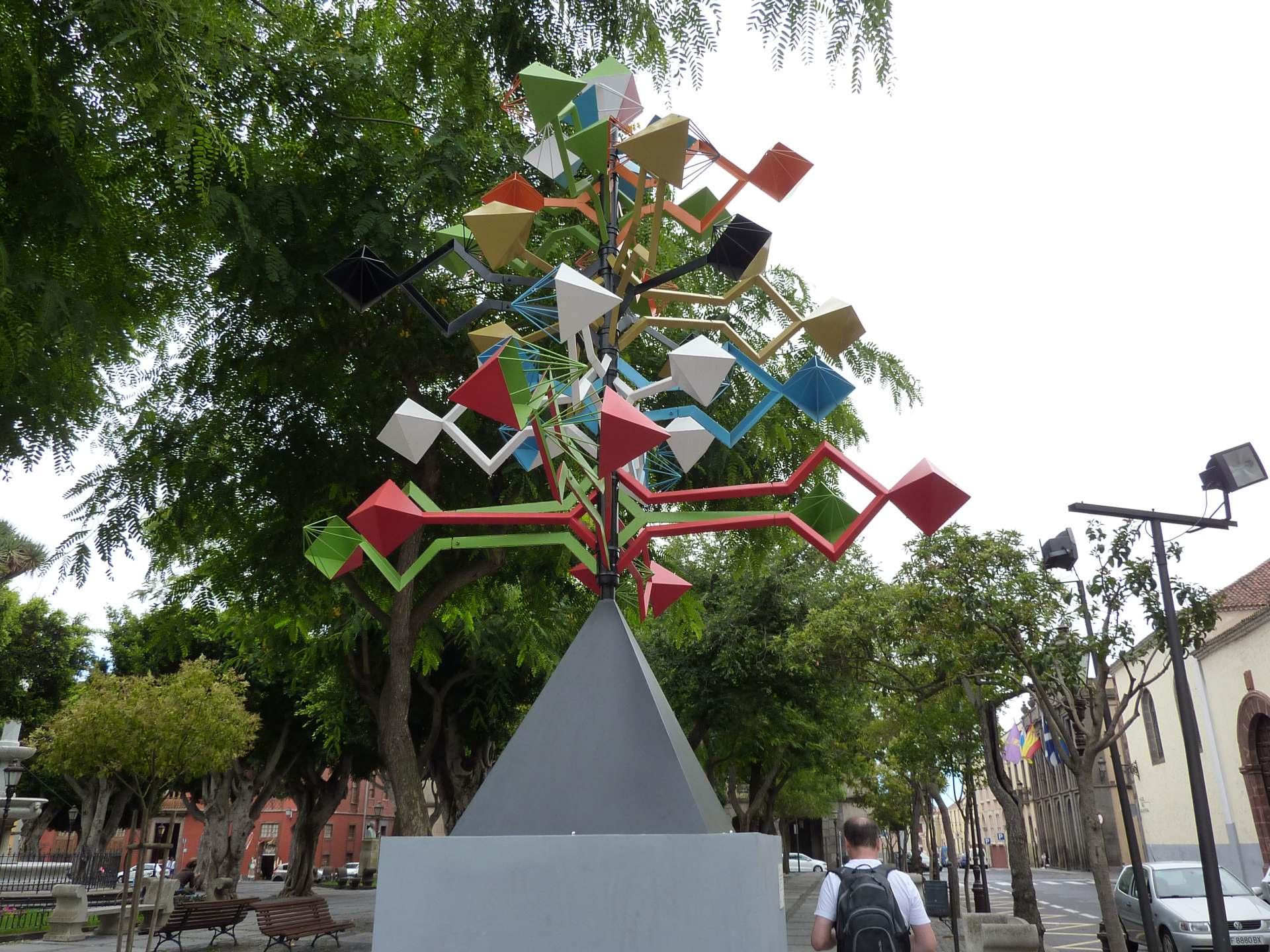 Moderne Kunst in La Laguna