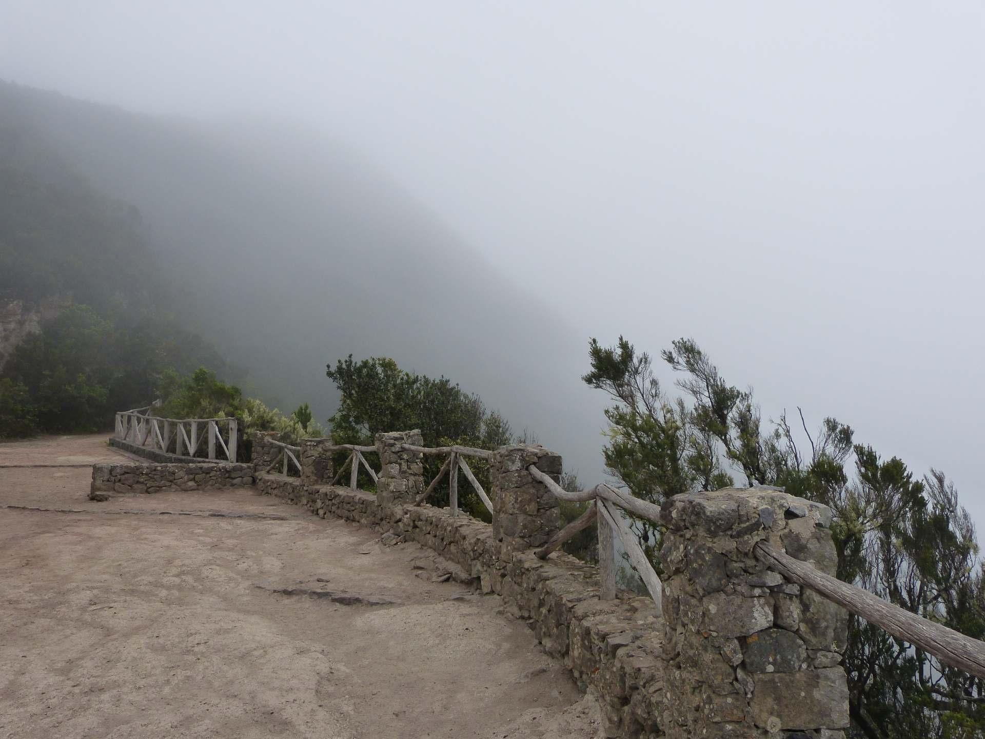 Cabezo de Tejo, auch im Nebel