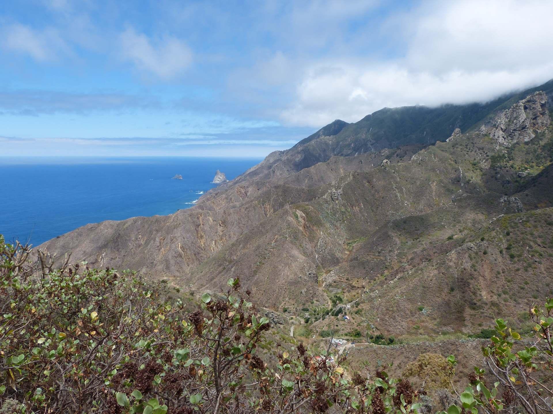 Blick in den Norden zum Roque de Tierra