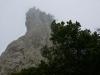 Roque de Anambro im Nebel
