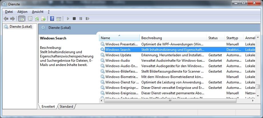 Crucial M4 SSD Konfiguration Windows 7
