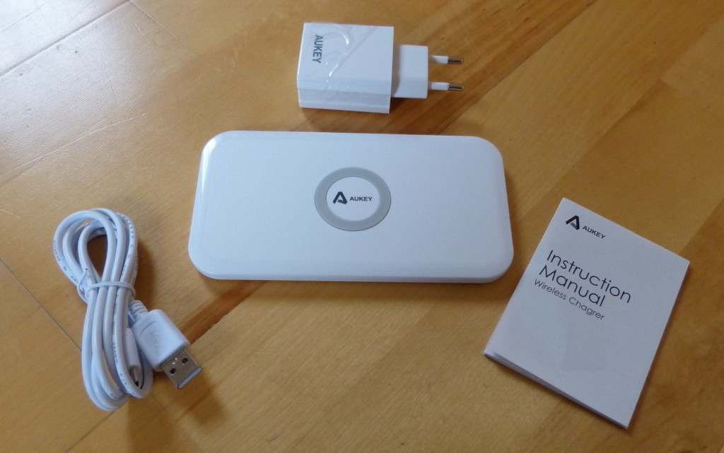 Aukey® QI Ladegerät Wireless Charging