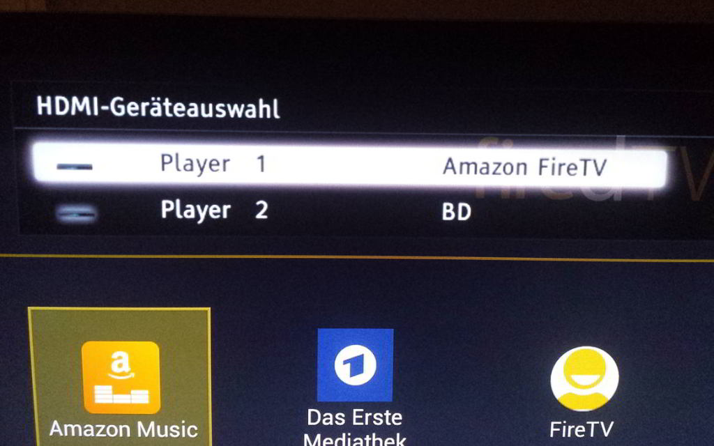 Fire TV CEC Sony Bravia