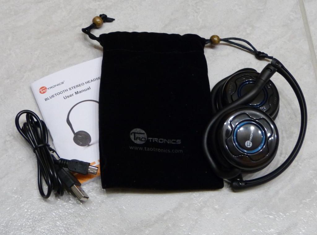 TaoTronics Bluetooth Kopfhörer HEadset TT-BH03