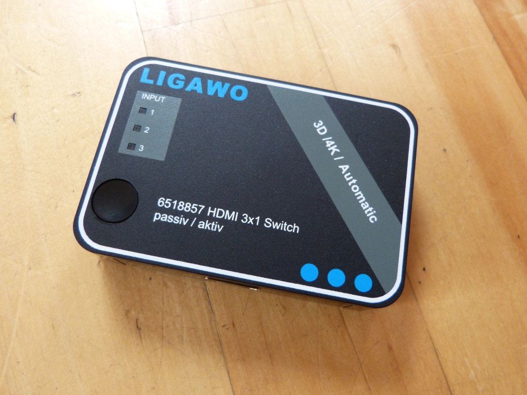 Ligawo 6518857 HDMI Switch
