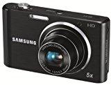 Samsung ST77 Digitalkamera (16 Megapixel, 5-fach opt. Zoom, 7,6 cm (3 Zoll) Display, bildstabilisiert, nur micro-SD) schwarz