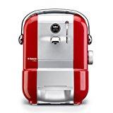 Philips Saeco RI9575-11 - Kaffeemaschinen (Rot, Silber, Thermoplastische Polyurethane (TPU), 0,9l, 15 bar, 1,2m, 50/60 Hz)