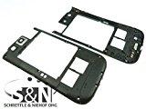 Samsung Galaxy S3 LTE GT-i9305 Mittelgehäuse Cove Gehäuse schwarz