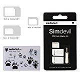 MediaDevil Simdevil 3-in-1 SIM-Karten Adapter Set (Nano/Mikro/Standard)